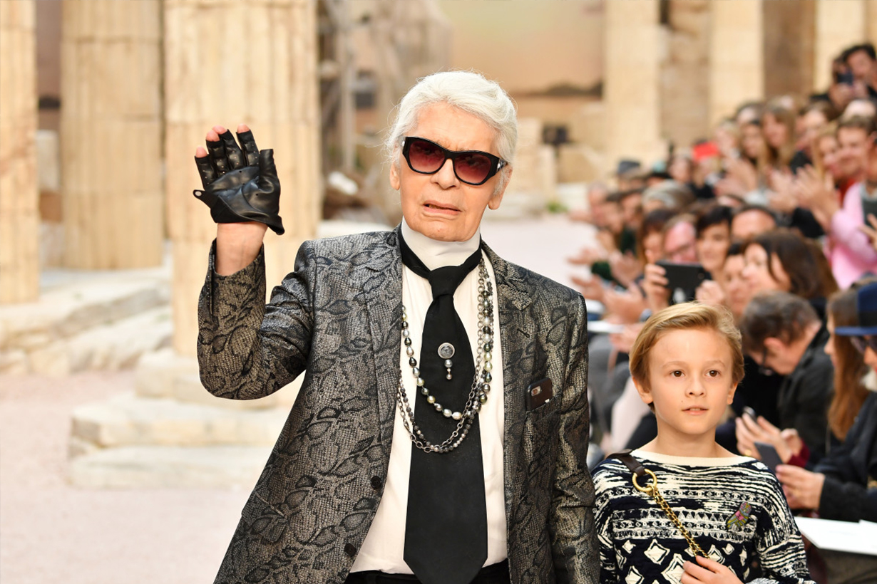Karl Lagerfeld Iconic Chanel Runway Sets