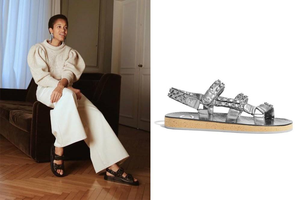 Designer Shoes Chanel Sandals