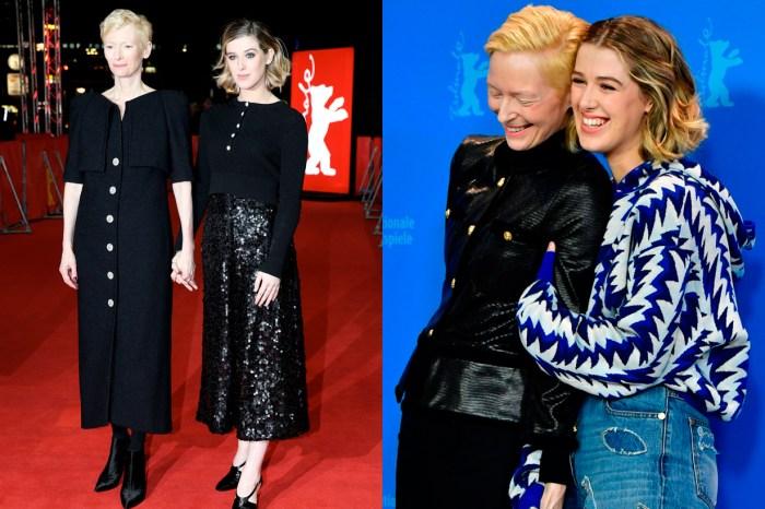 最會穿 Chanel 的母女檔:Tilda 還有她極具潛力的星二代時髦女兒 Hornor!
