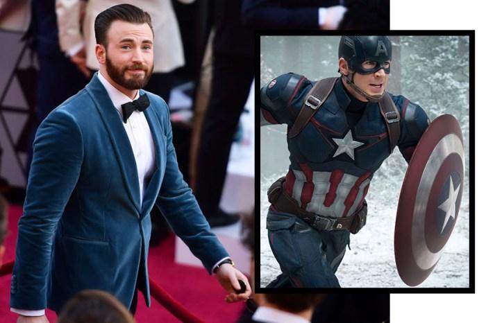 奧斯卡台下「英雄救美」:Chris Evans 超有紳士風度的這幕,獲網力讚是真正的「美國隊長」!