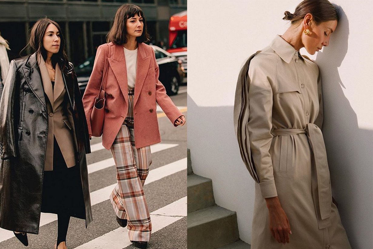 4 Coat Brands from street style