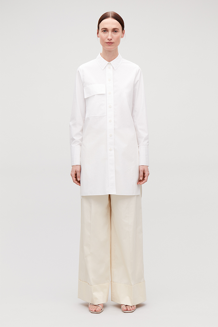 cos white shirt project  Wardrobe Essentials
