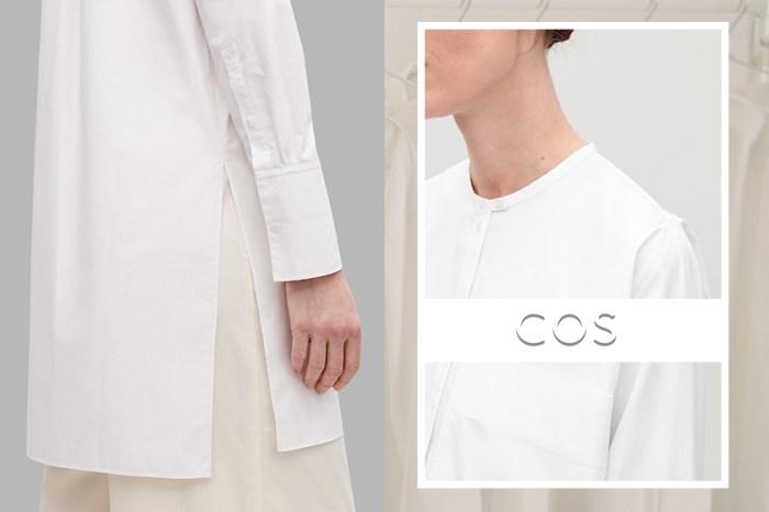 衣櫥必備之基本單品:COS 推出「白襯衫企劃」,滿足一眾注重細節的簡約控!