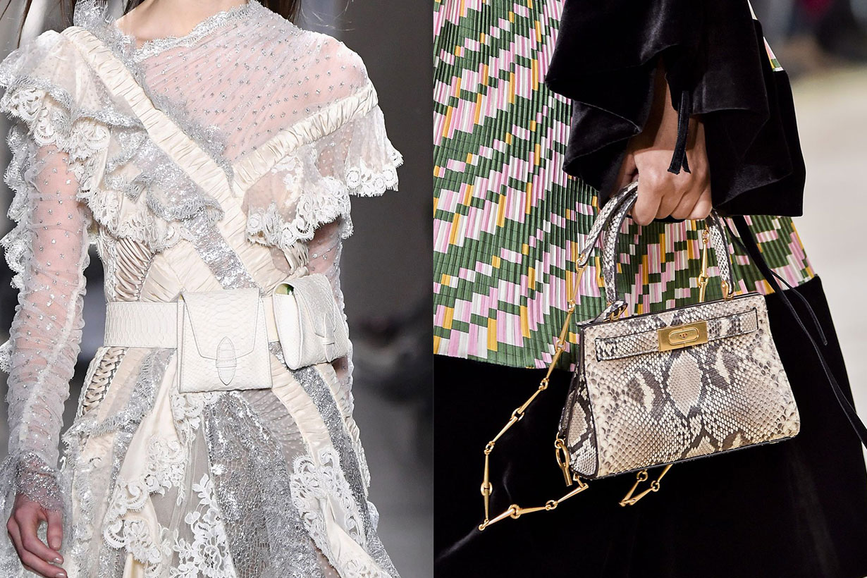 Fall 2019 bags trend in New York fashion week