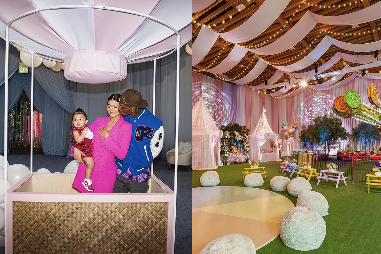 Kylie Jenner Stormi Webster 1st birthday party