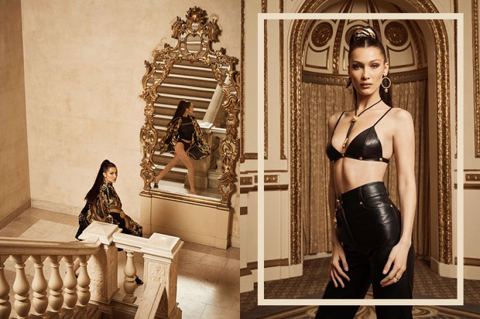 Bella Hadid 化身奢華宮廷女王,浮誇演繹 KITH x Versace 重磅聯名系列!