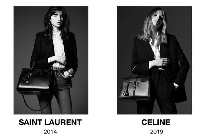 被時尚警察抓包:現在的 Celine 和「 5 年前」的 Saint Laurent , 你覺得相似嗎?
