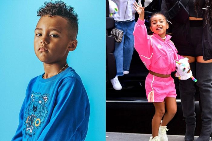 5 歲的 North West 竟然有男朋友,情人節還送她 Tiffany & Co 項鍊!