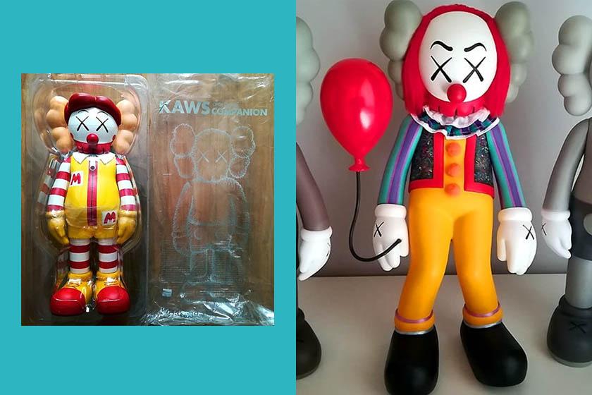 KAWS x McDonald's bff doll