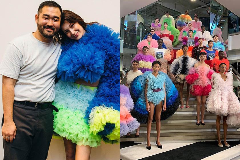 Marc Jacobs Katie Grand Japanese fashion designer Tomo Koizumi