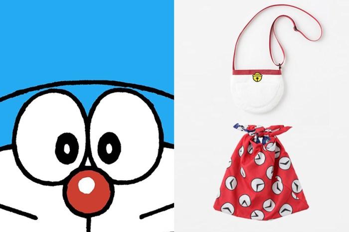 我也要「時光包巾」!日本品牌與哆啦 A 夢聯名,百寶袋、記憶吐司一次擁有!