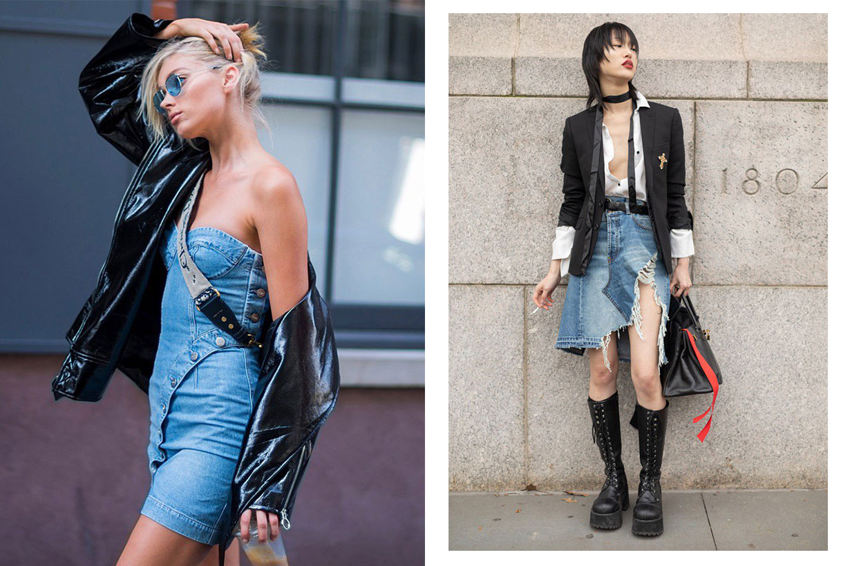 denim style, ways to wear