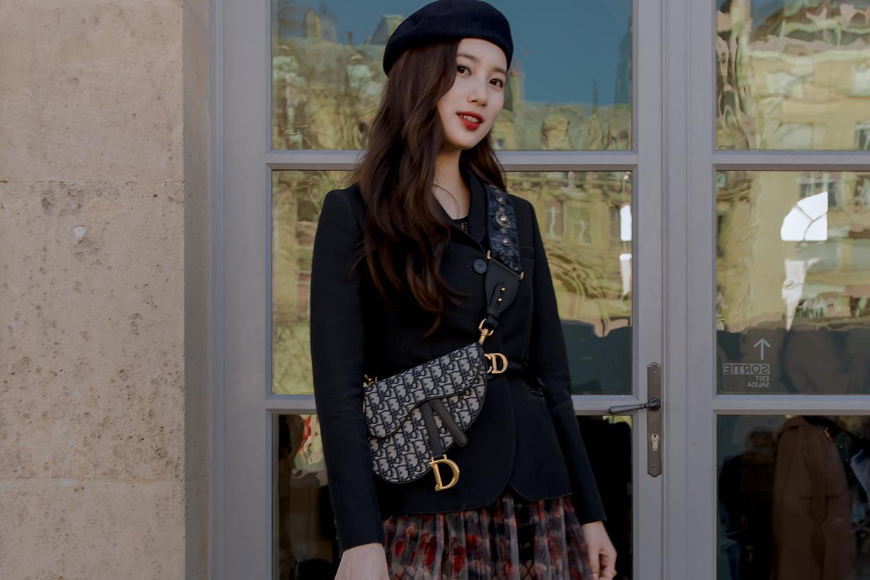 dior 2019 FW fashion show suzy bae