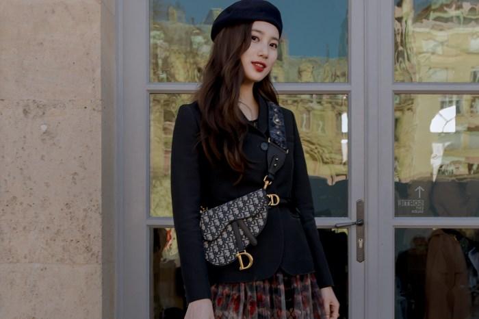 時尚與仙氣並重:秀智出席 Dior 時裝騷的造型猶如仙女出巡!