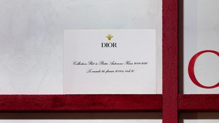 直播 Dior 2019 秋冬時裝騷!
