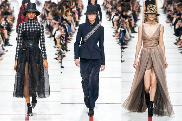#PFW:看 Dior 本季如何把優雅變的叛逆,藏在會場裡的秘密你又發現了嗎?