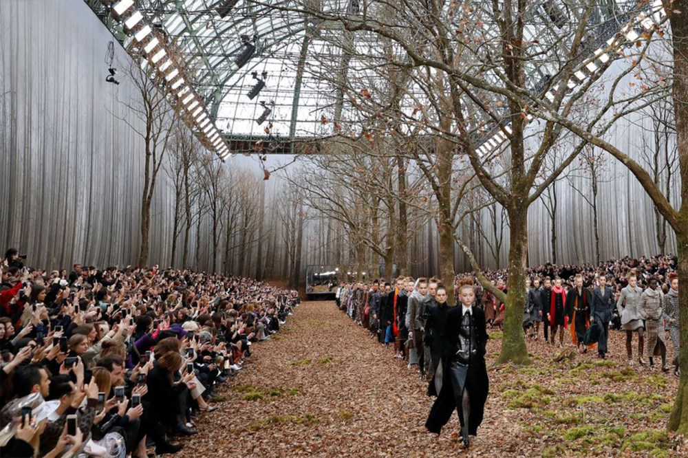 Enchanted Forest Chanel Tree Runway