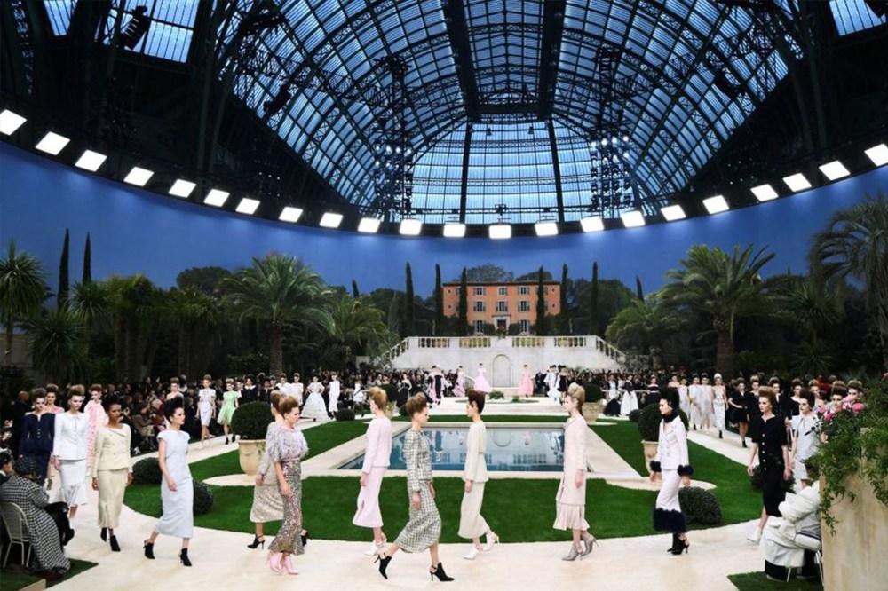 Chanel Garden Runway