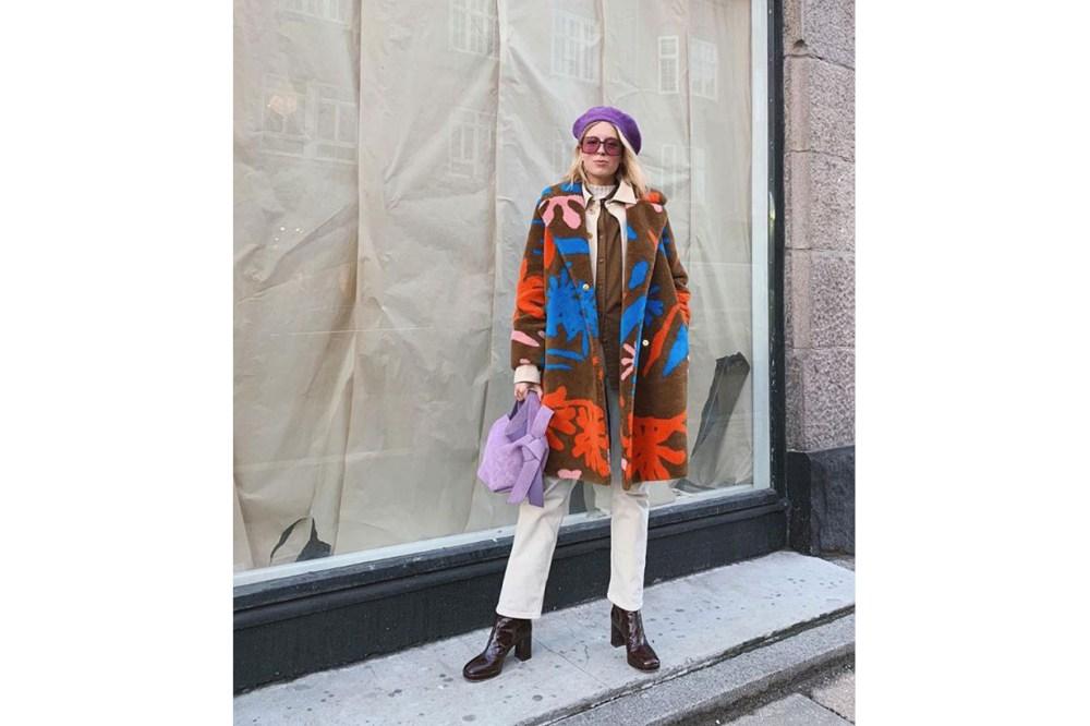 Prints Coat Street Style