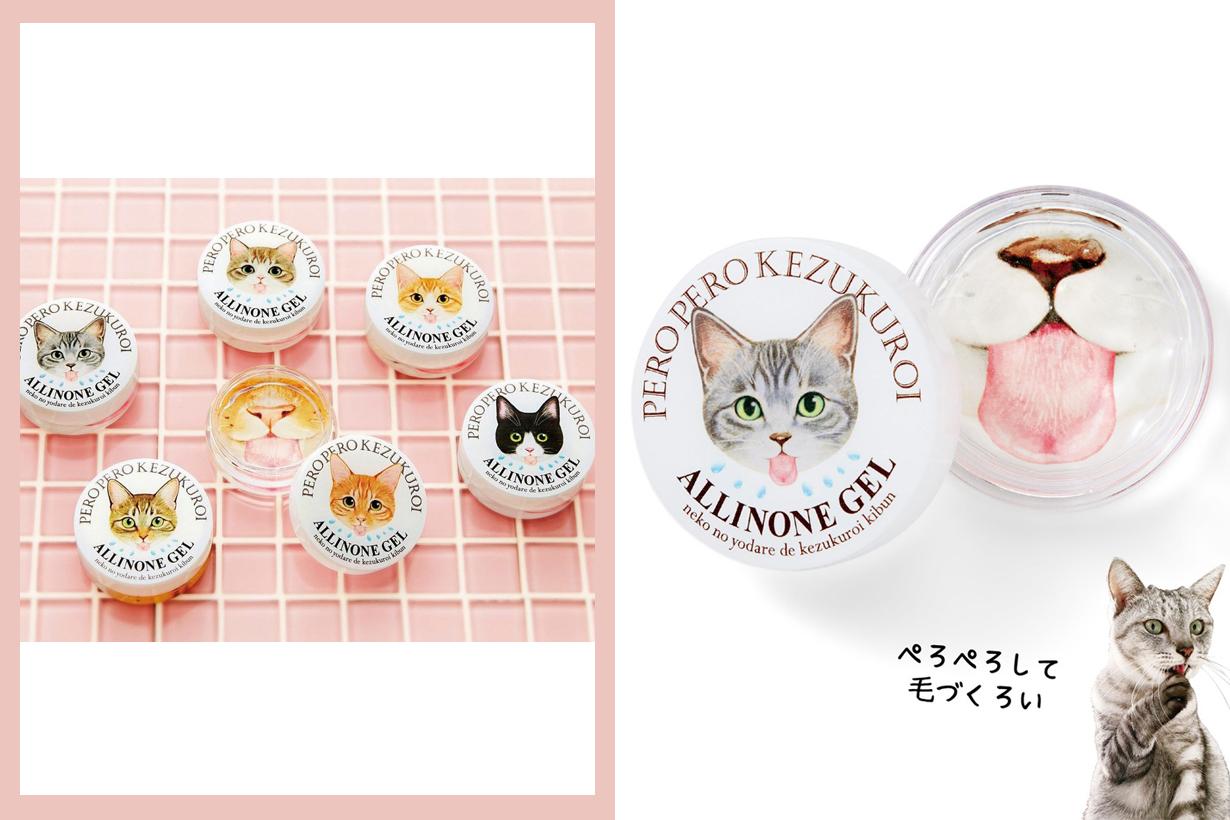 Felissimo Pero Pero Kedukurou All in One Jel Cat saliva moisturising gel japanese skincare cat lovers nourishing