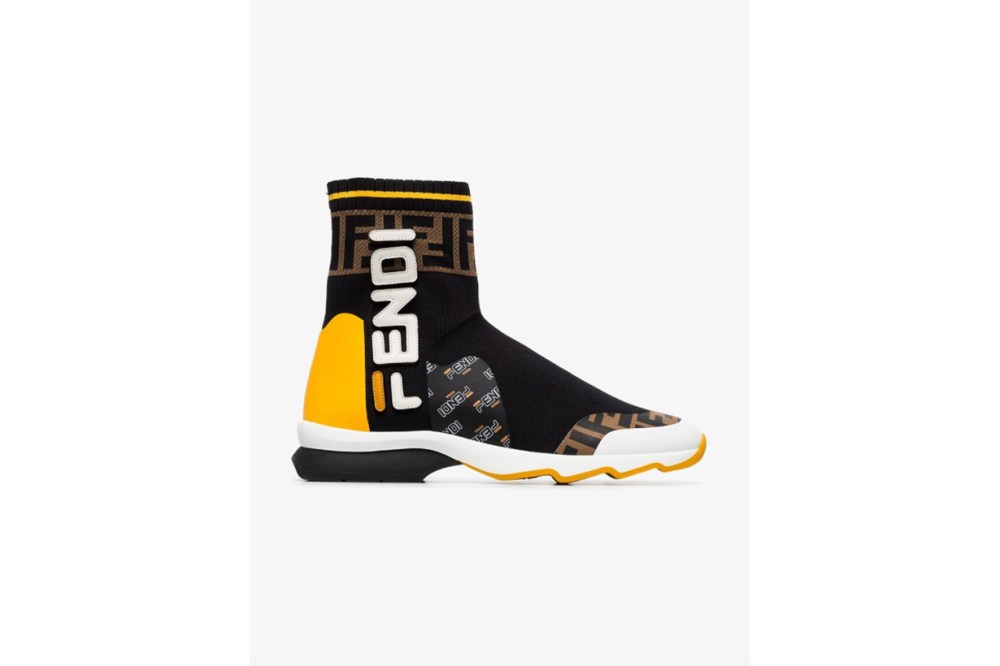 Fendi FendiMania Sock Style Sneakers