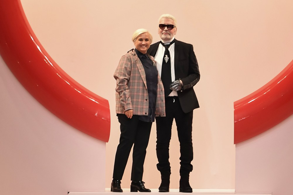Karl Lagerfeld Fendi creative director Silvia Venturini Fendi