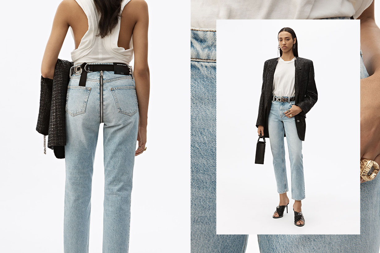Alexander Wang new high waist Cult Zip Jean
