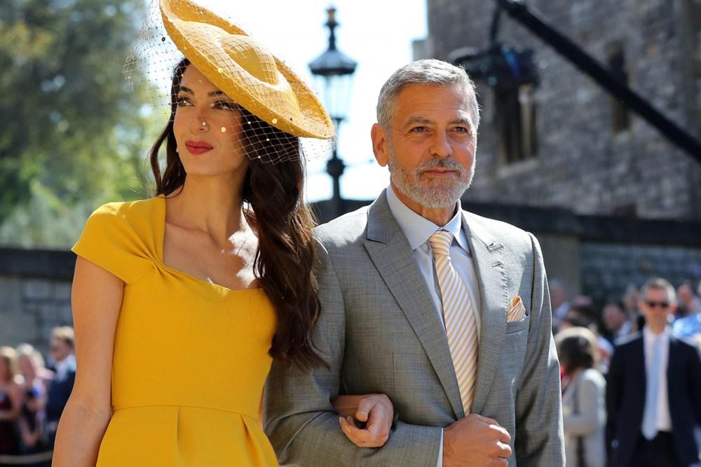 George Clooney Amal Clooney Meghan Markle Wedding