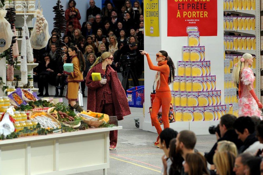 Grocery Store Chanel Runway Supermarket