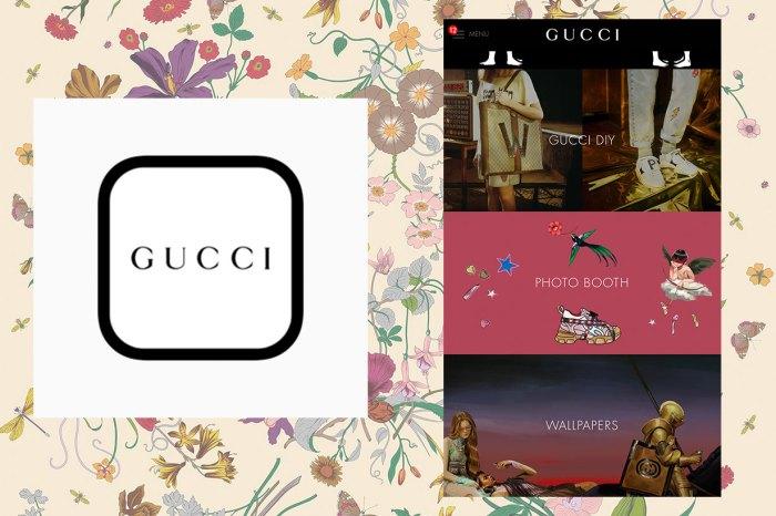 復古控不能錯過 Gucci 修圖 Apps !攝影 + 貼紙功能,照出最時尚自拍照