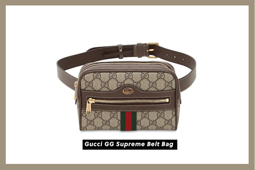 Gucci-GG-Supreme-Belt-Bag