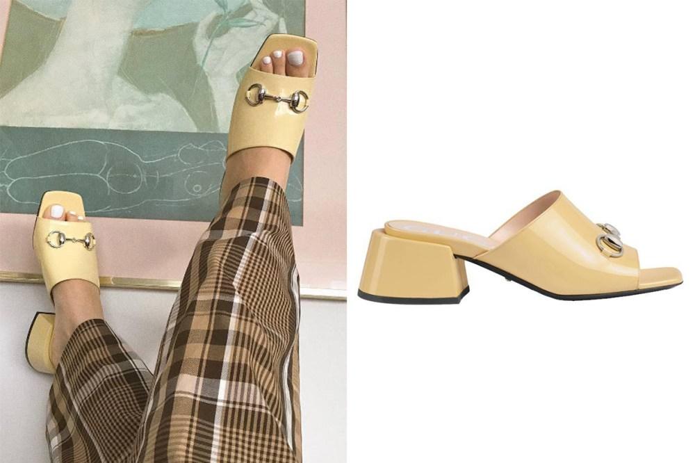 Designer Shoes Mid-Heel Slide