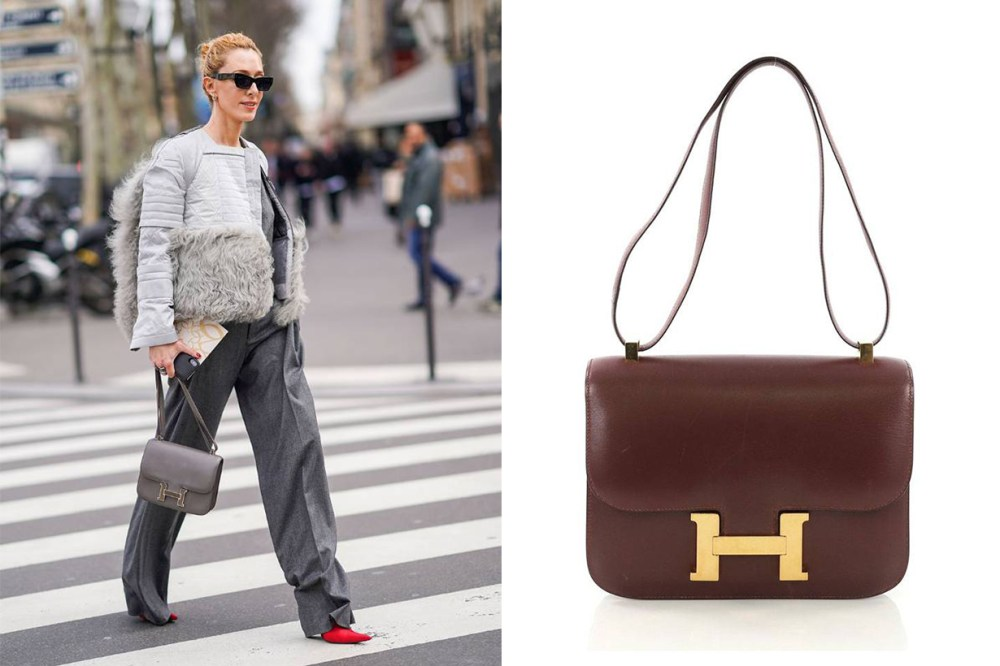 Hermes Constance Street Style