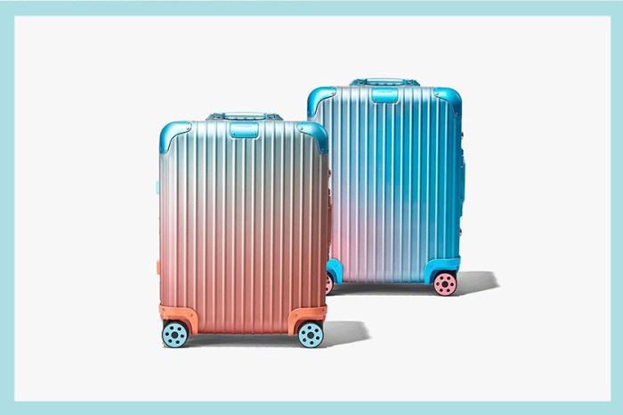 浪漫聯乘:Rimowa 推出最新配色行李箱,畫上一抹洛杉磯的落日彩霞!