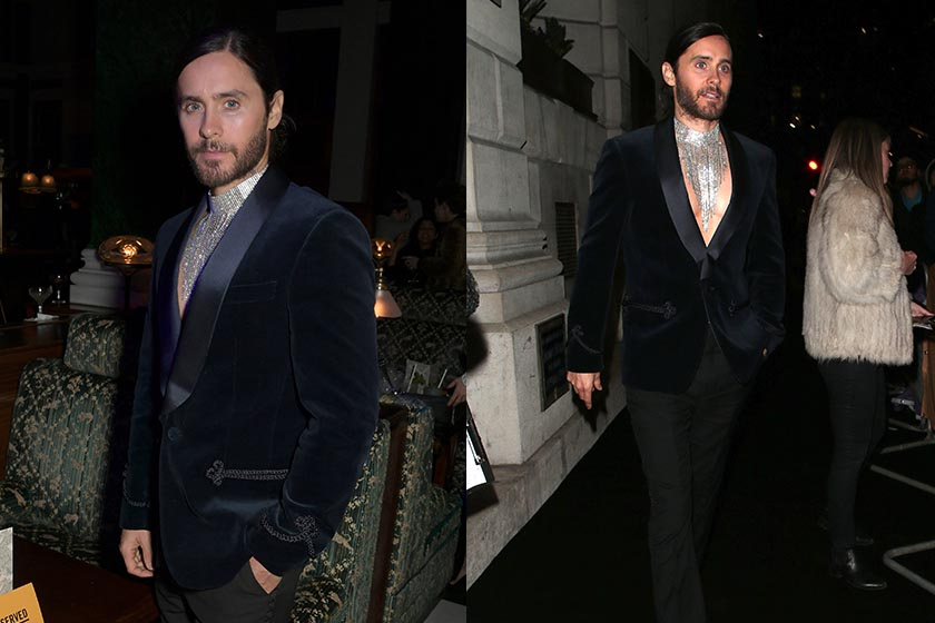 jared leto Gucci trouser American Music Awards