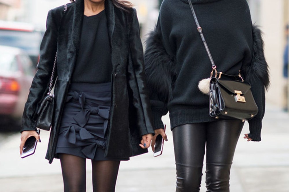 Black Outfits Street Style