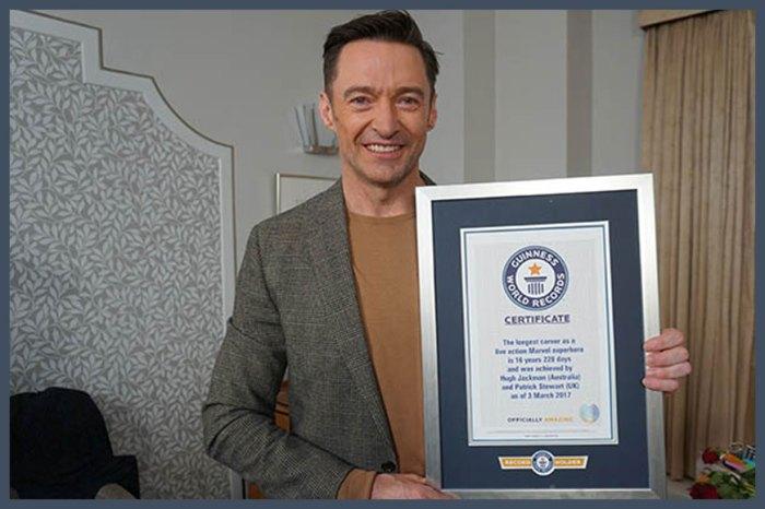 「狼人」獲頒健力士世界紀錄?!Hugh Jackman 挑戰過的項目太爆笑