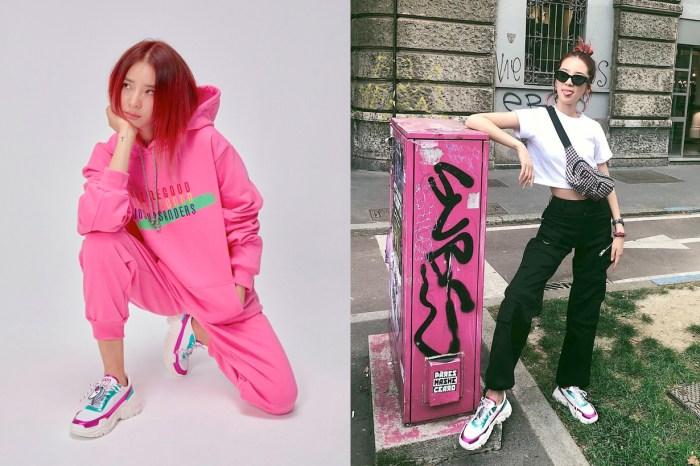 身為這個義大利品牌的死忠粉絲,Irene Kim 特別合作推出限量白波鞋!