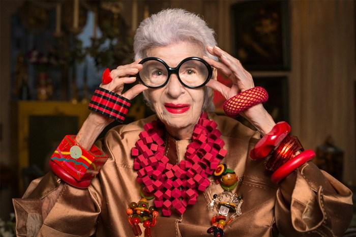 年齡只是數字:97 歲時尚教主 Iris Apfel,獲模特公司 IMG 簽約!
