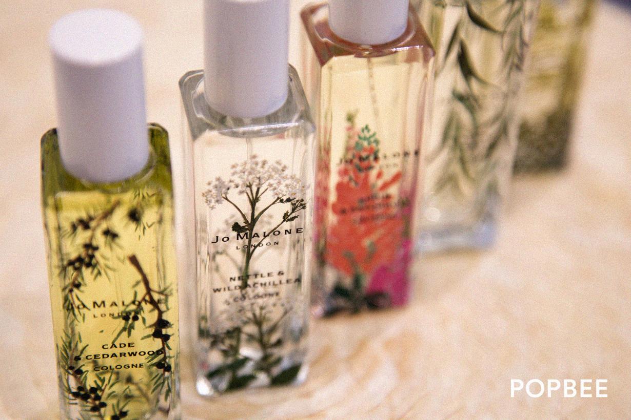 jo malone london wild flowers weeds perfume unboxing