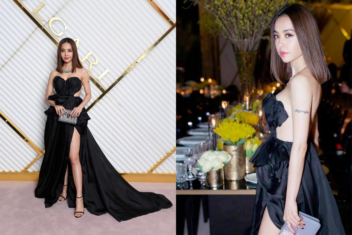 jolin bvlgari gown bella hadid koki sexy look