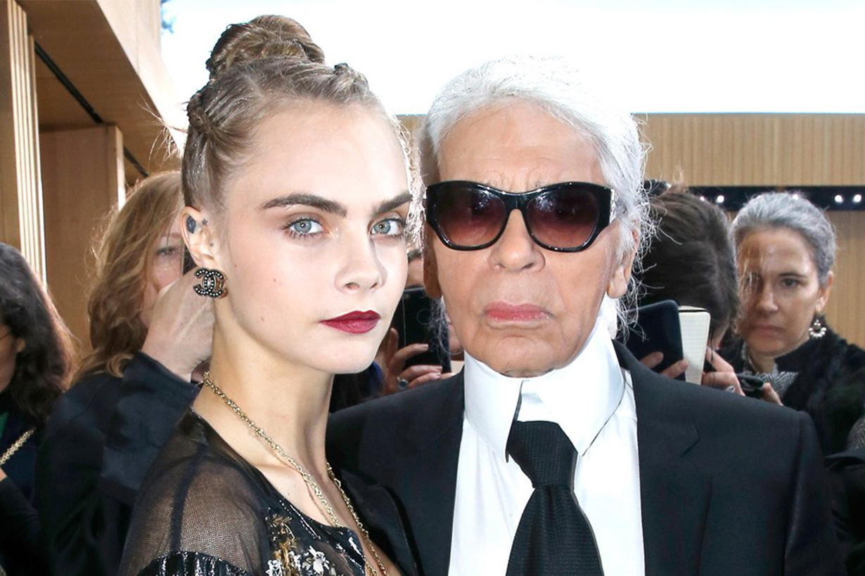 Cara Delevingne challenges Jameela Jamil on Karl Lagerfeld comments