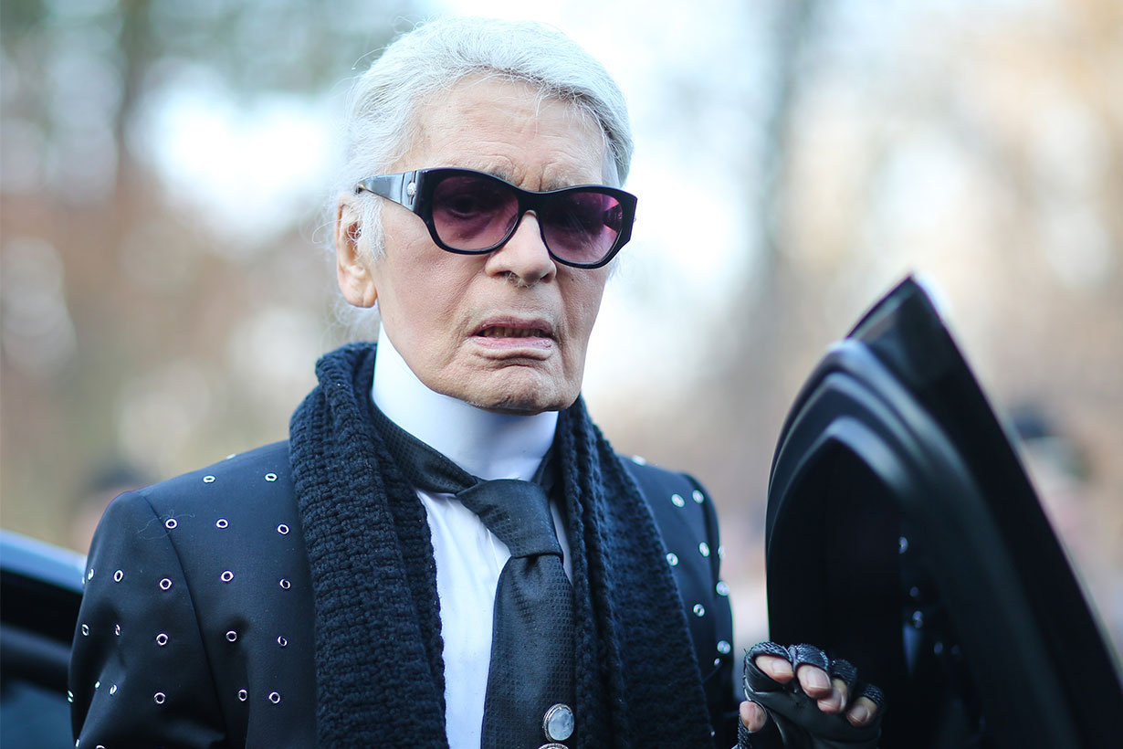 Karl Lagerfeld controversial moments 2019
