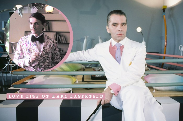 Karl Lagerfeld 的感情世界:他贏得了世界的掌聲,卻偏偏敗給了愛情!