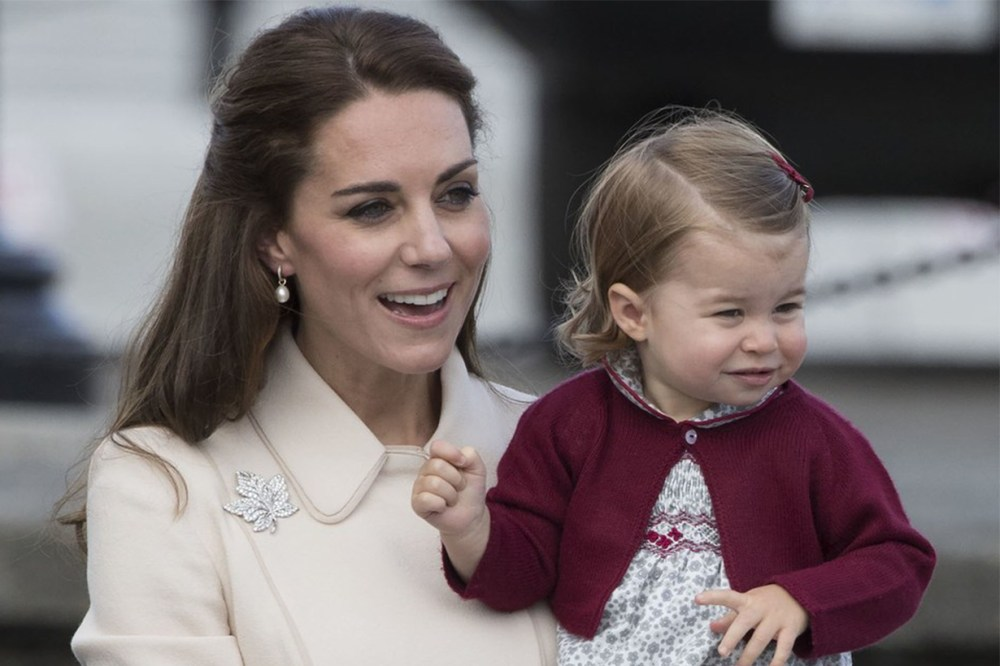 Kate Middleton Princess Chatlotte