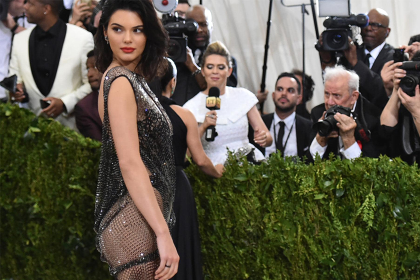Kendall Jenner Just Got Completely Naked for a 'Vogue Italia' Cover Shoot