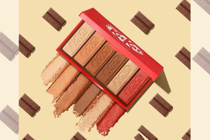 朱古力商 Kit Kat 推出眼影?化出「甜到漏」眼妝!