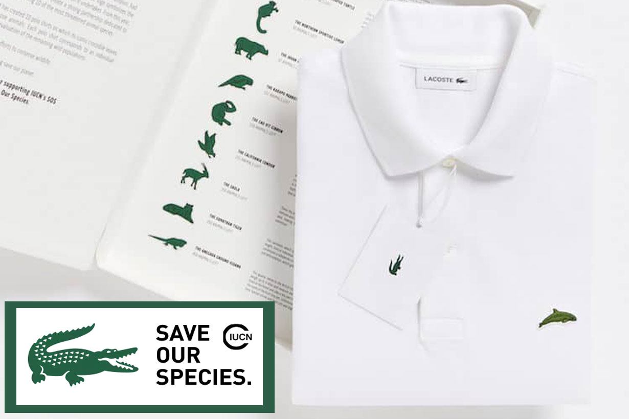 Lacoste x Save Our Species 2019