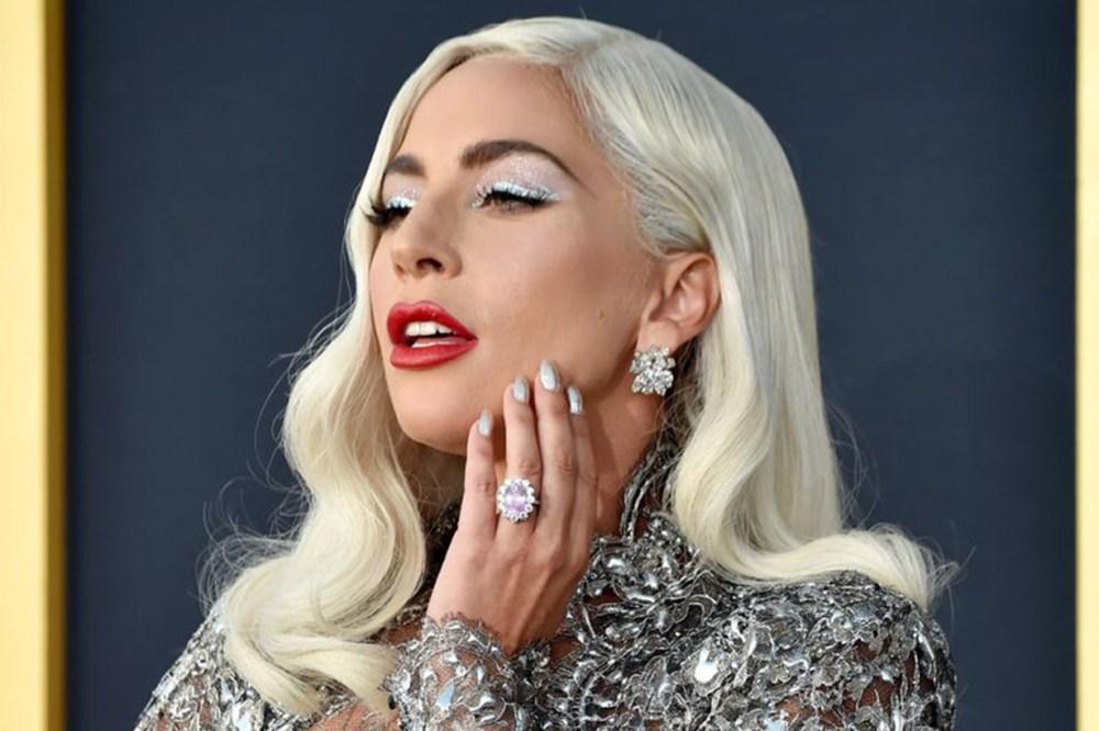 Lady Gaga Pink Engagement Ring