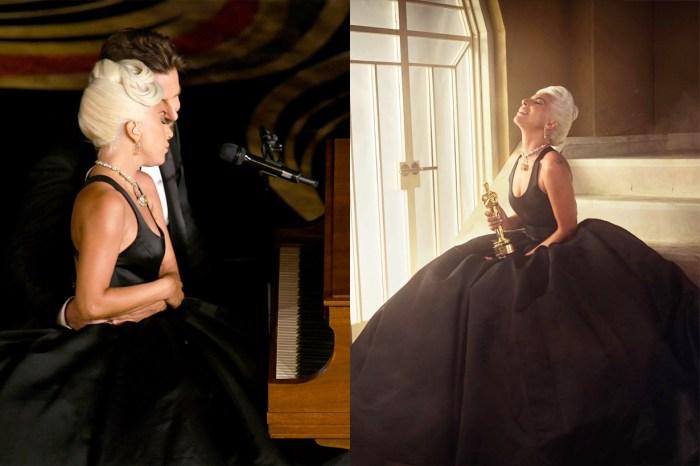 Lady Gaga 帶同小金人和他的內褲上節目,回應跟 Bradley Cooper 的緋聞!